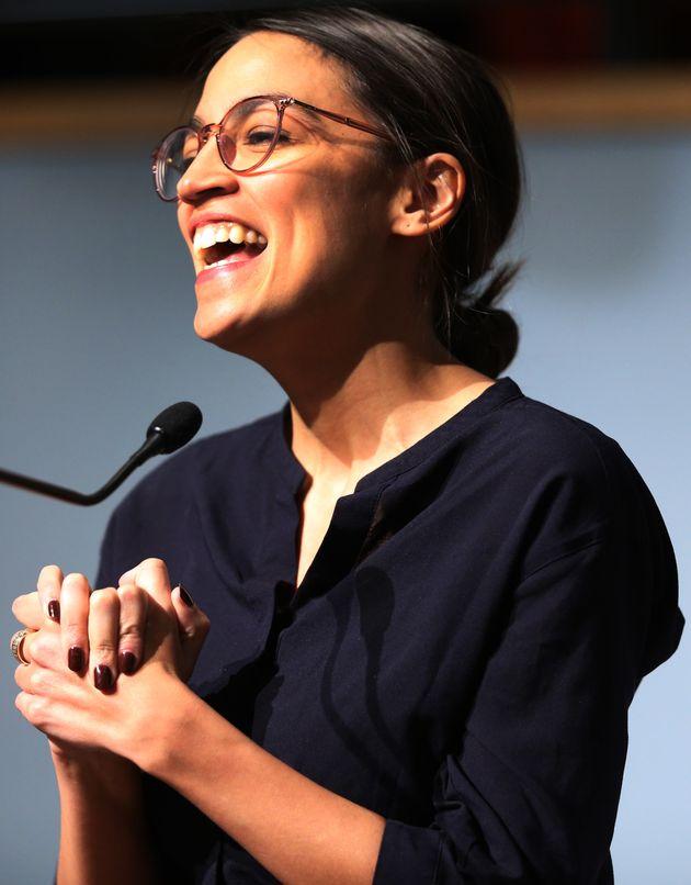 Alexandria Ocasio-Cortez, que lidera el Green New