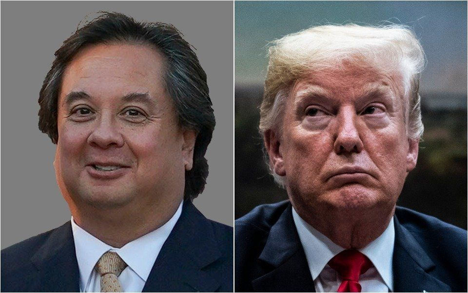 George Conway and Donald Trump