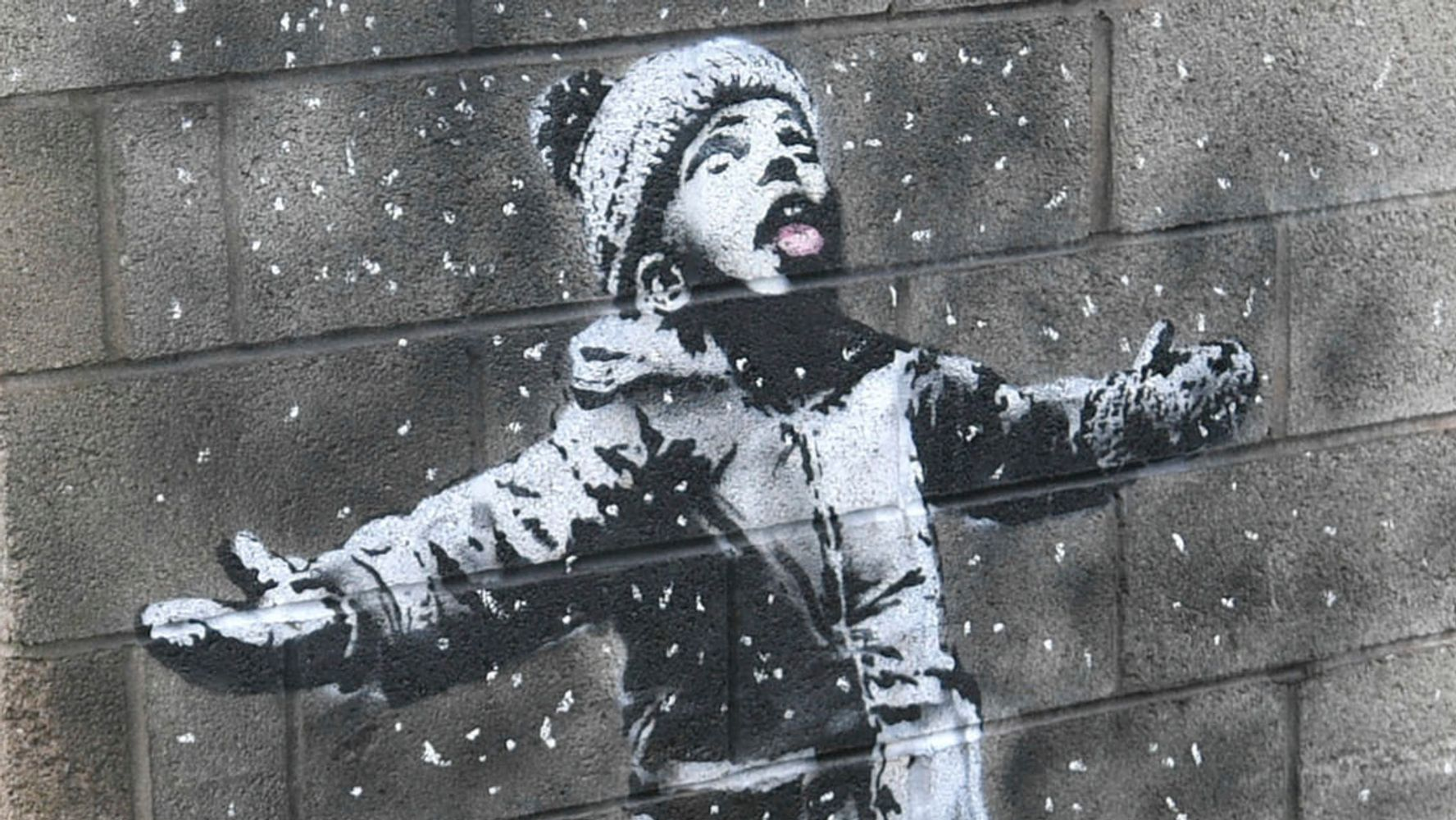 Banksy Sends Haunting Environmental Message With New Holiday Street