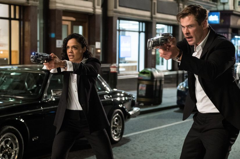 The Internet Loves Chris Hemsworth & Tessa Thompson in 'Men in Black: International'