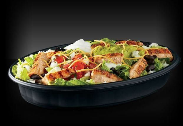 Customizing the Taco Bell salad can help make it healthier.