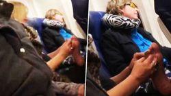 Επιβάτης κάνει πεντικιούρ στον διπλανό της εν ώρα πτήσης και εκείνος μένει