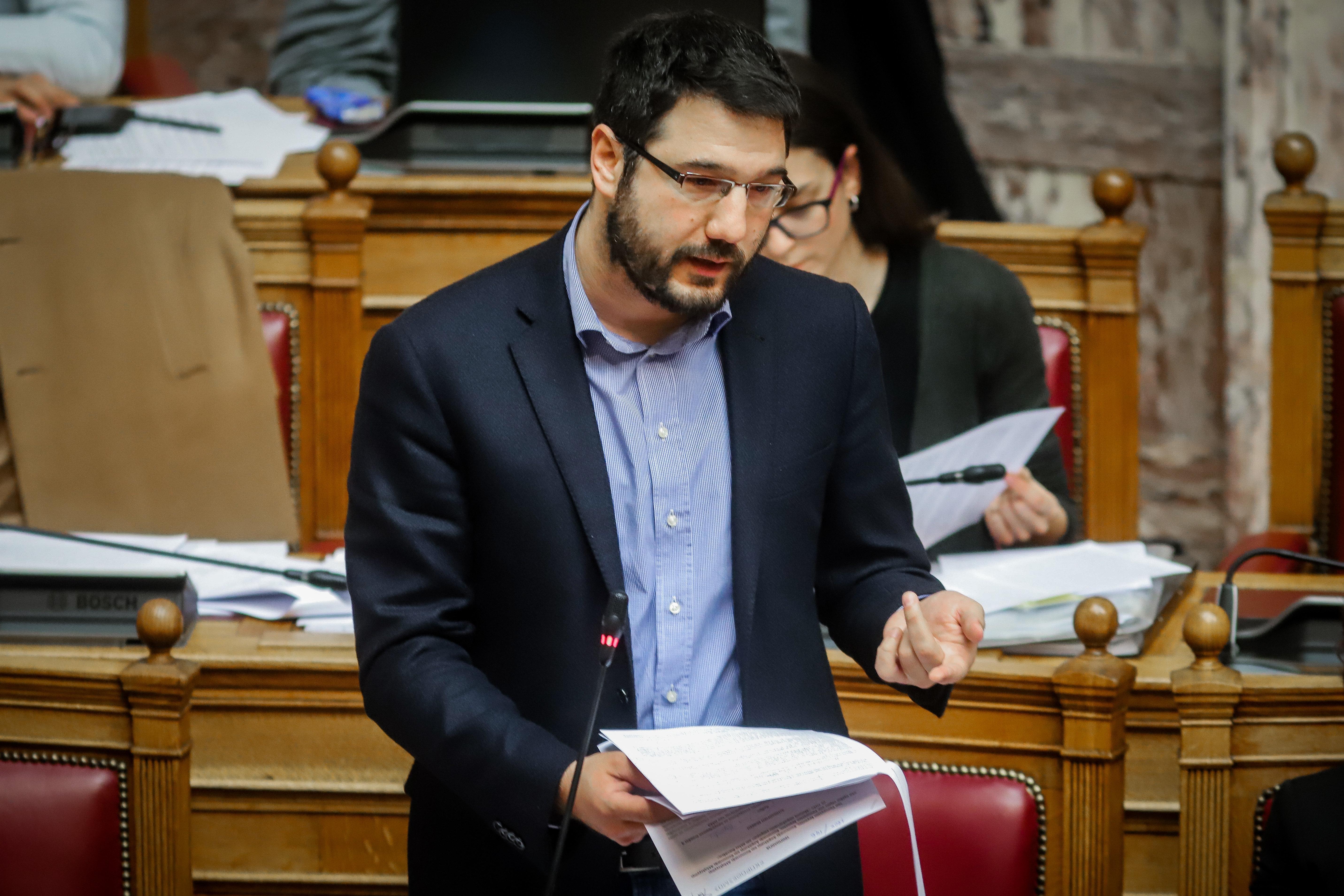 Κι επίσημα o Νάσος Ηλιόπουλος υποψήφιος δήμαρχος του ΣΥΡΙΖΑ στην