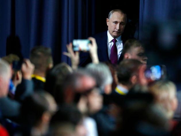 Σκληρή επίθεση Πούτιν κατά του Οικουμενικού