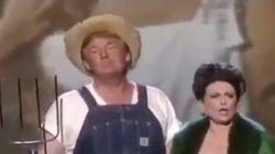 Trump déterre une vidéo improbable pour annoncer un décret sur