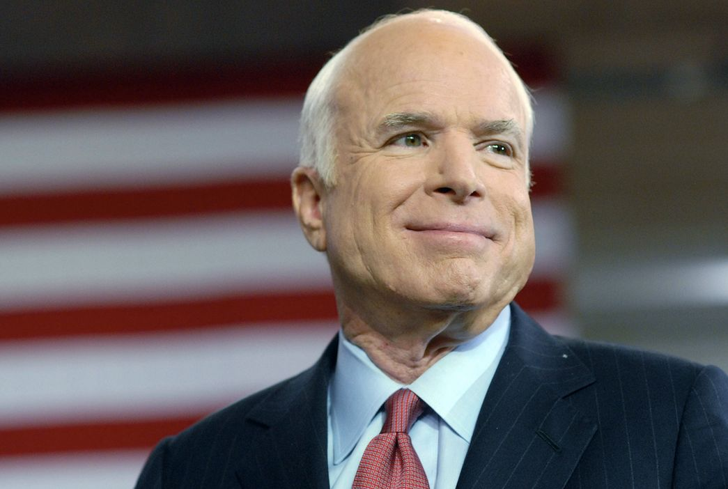 <p>Republican John McCain lost out to Barack Obama in the 2008 US presidential election. Since then he spoke out against Donald Trump and he was popular with both Democrats and Republicans. He died in August, aged 81 – one day after he stopped treatment for brain cancer. (Getty) </p>