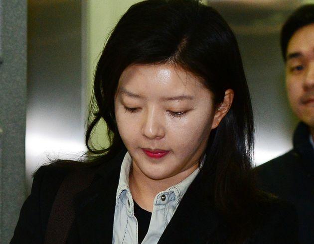 '도도맘' 김미나씨가 전남편을 상대로 한 항소심에서도