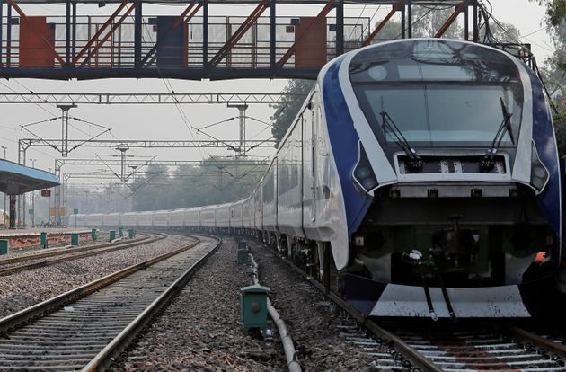 India's first engine-less semi-high-speed train named