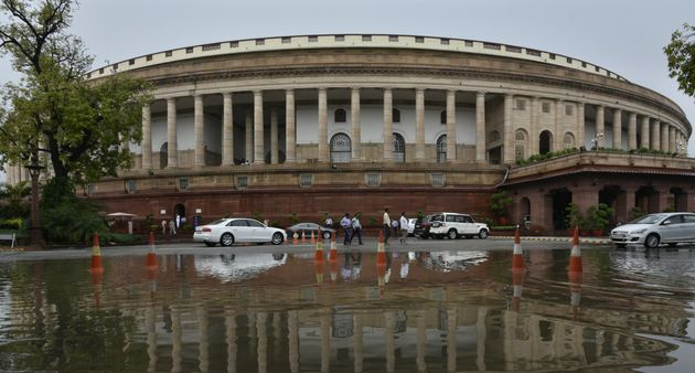 Lok Sabha Adjourned For The Day After Protests Over Rafale,