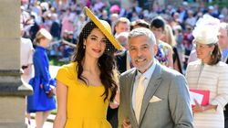 Προς πώληση το κίτρινο φόρεμα που φορούσε η Αμάλ Kλούνεϊ στον γάμο του πρίγκιπα Χάρι και της Μέγκαν