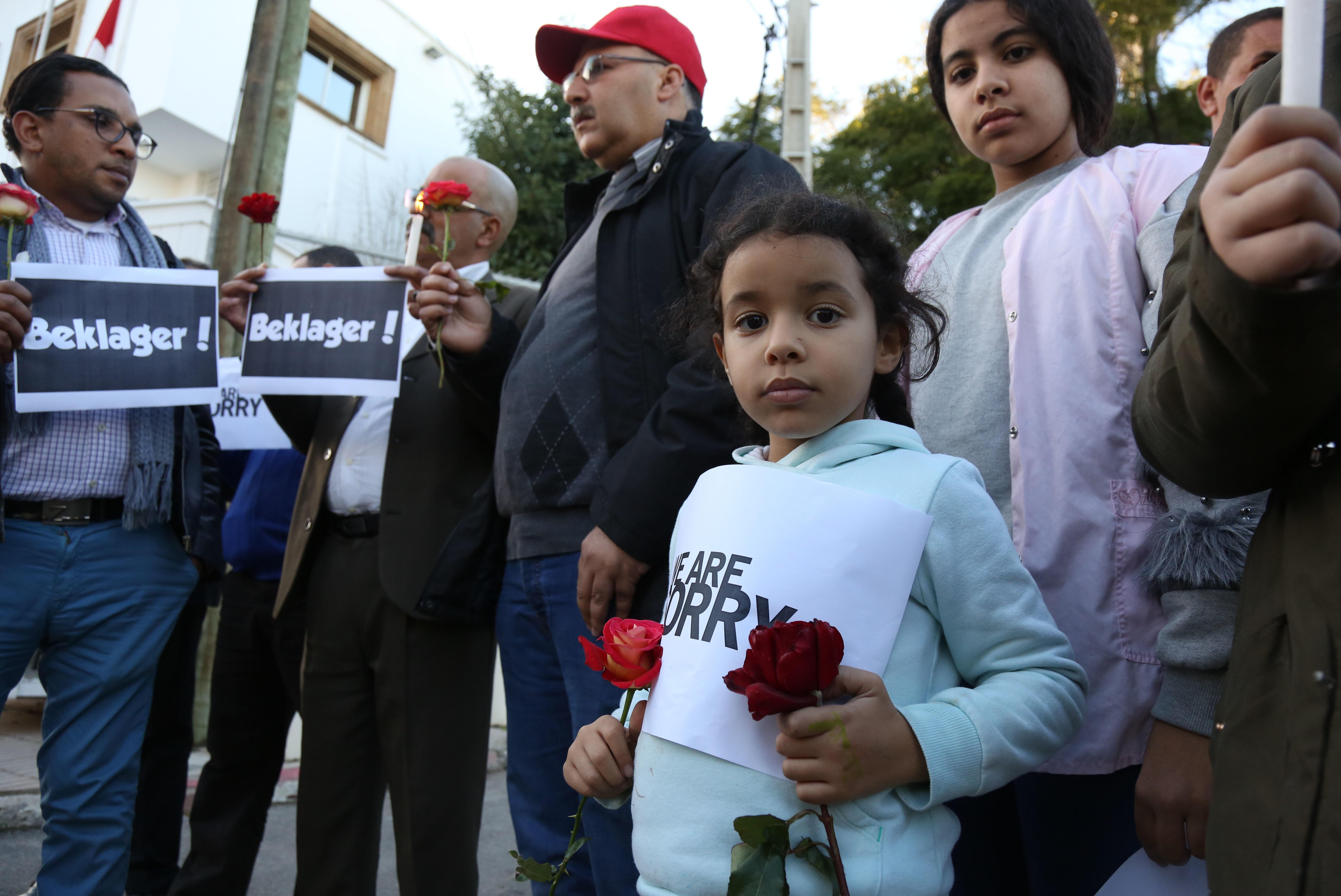 Un premier recueillement organisé à Rabat en hommage aux deux jeunes touristes