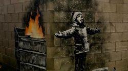 Το νέο έργο του Banksy βρίσκεται στο Πορτ Τάλμποτ, την πιο μολυσμένη πόλη της