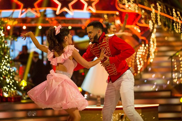 Aston Merrygold and Janette Manrara have been crowned 'Strictly' Christmas