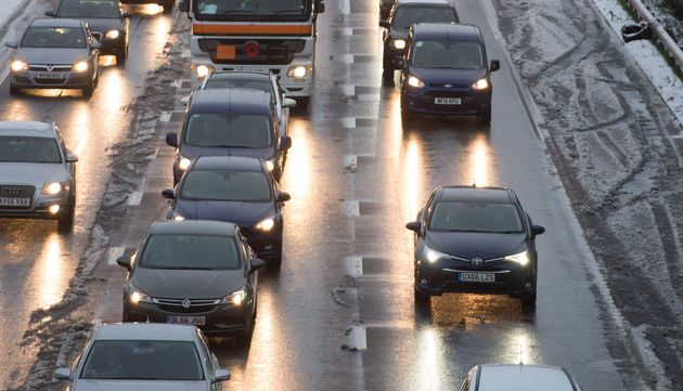 Drivers are advised to delay journeys until Friday evening to avoid the Christmas