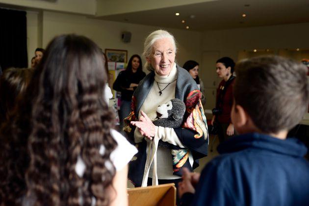H Δρ. Τζέιν Γκούντολ επισκέπτεται το ACS Athens και δίνει ελπίδα για την προστασία του
