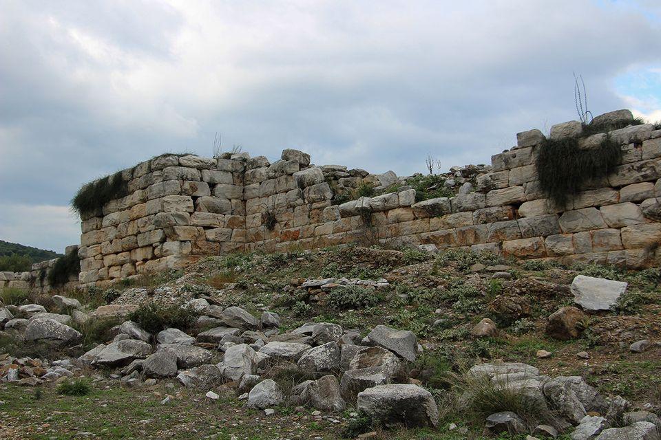 Τμήμα του Νότιου τείχους,...