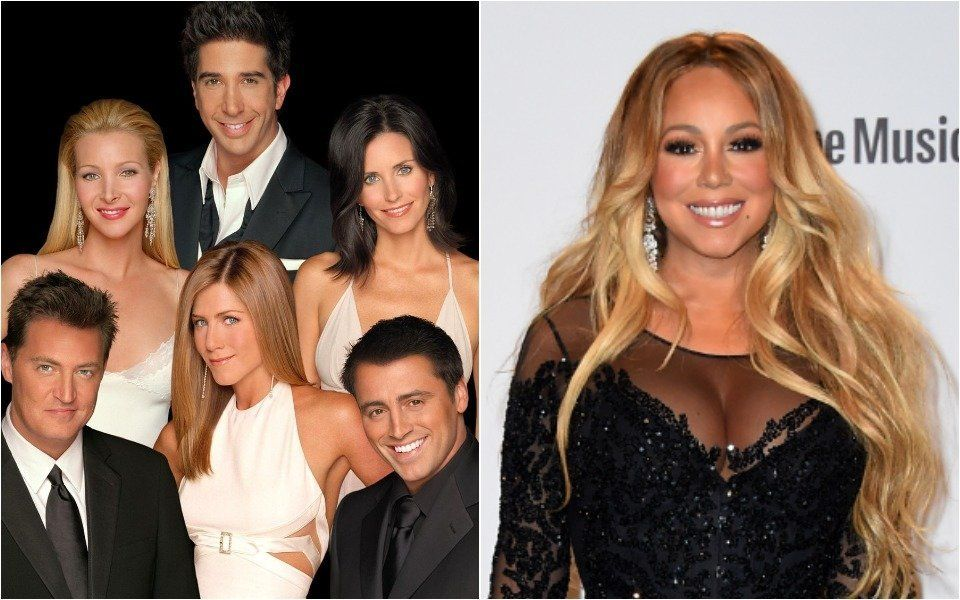 Friends and Mariah Carey