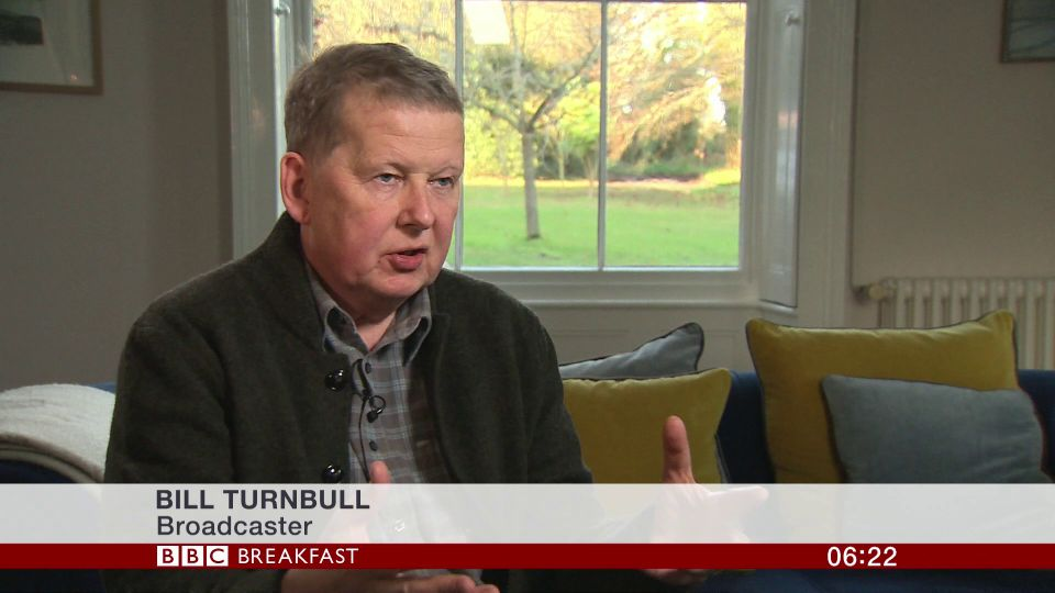 Bill Turnbull Speaks Of 'Dark Weeks' He Faced After Prostate Cancer