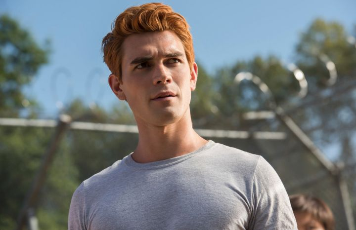 """I was pushing to make the character more edgy and serious,"" KJ Apa said of Archie on ""Riverdale."""