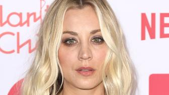 Kaley Cuoco arrives at the 6th Annual Hilarity For Charity Los Angeles Variety Show at the Hollywood Palladium on Saturday, March 24, 2018, in Los Angeles. (Photo by Willy Sanjuan/Invision/AP)