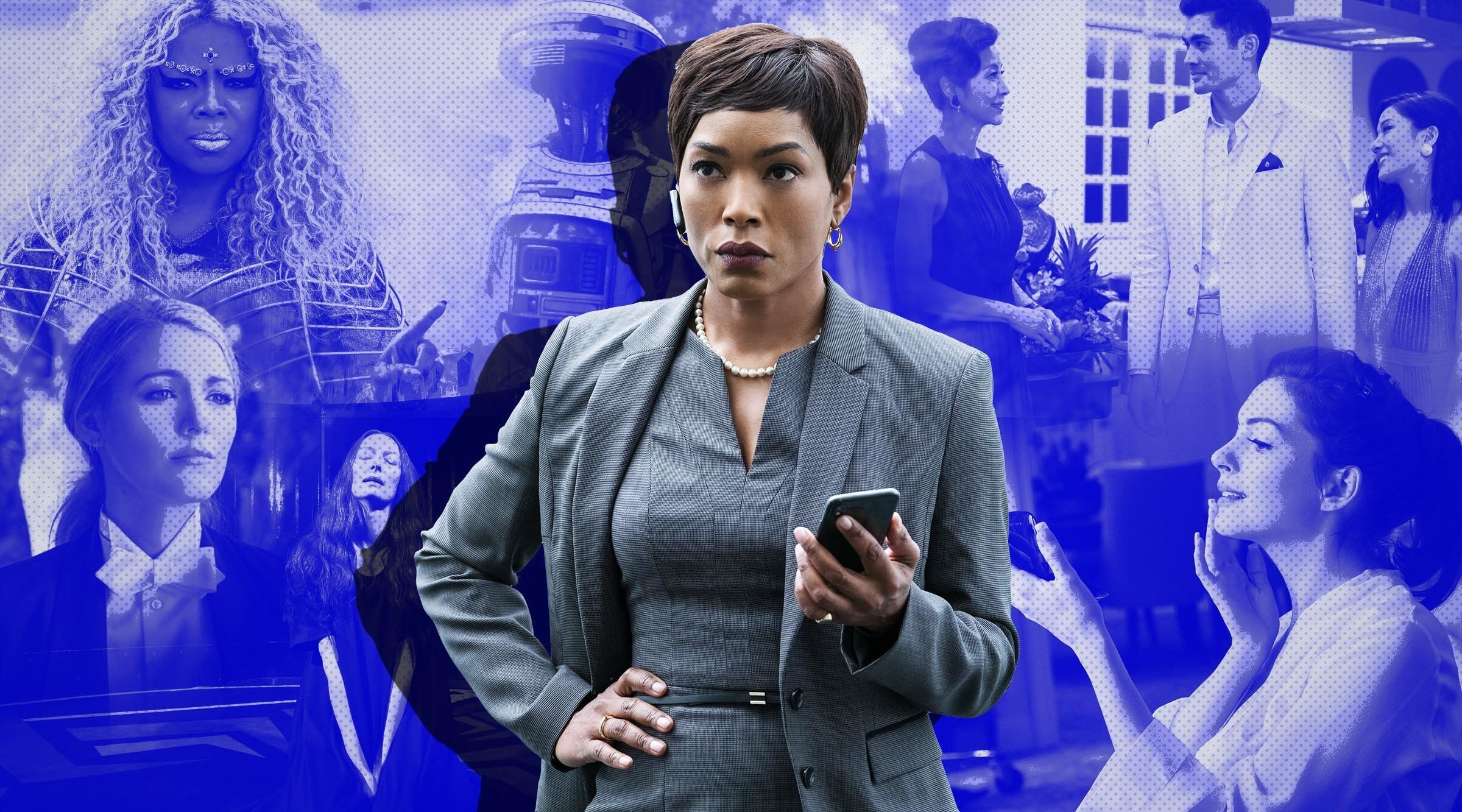 Angela Bassett as Erika Sloane in MISSION: IMPOSSIBLE - FALLOUT, from Paramount Pictures and Skydance.