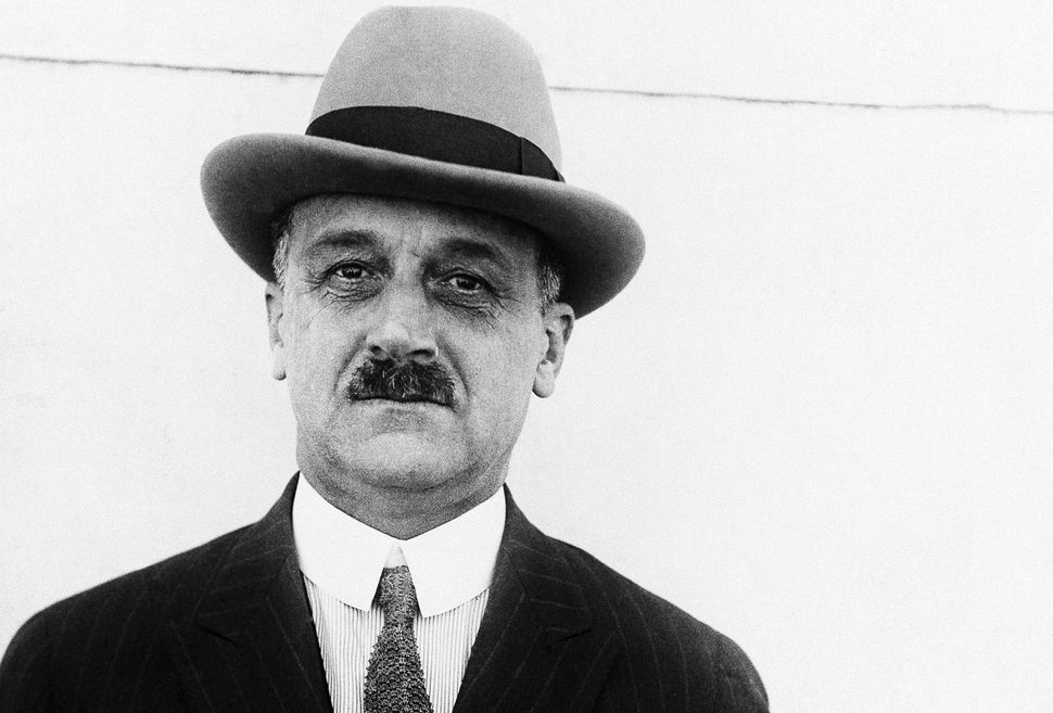 A.P. Giannini, an Italian immigrant who founded Bank of America.