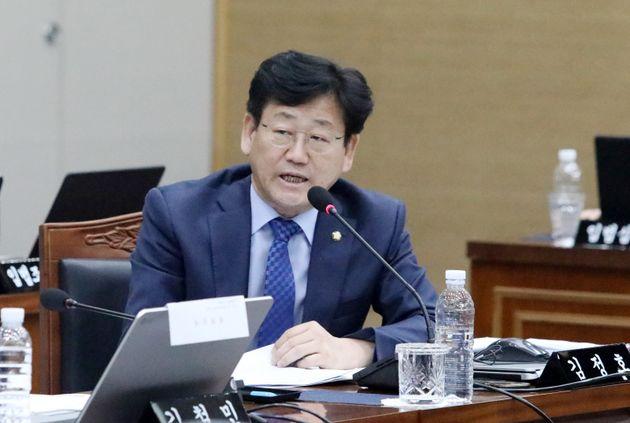 김정호 의원이 '공항 직원에 폭언' 의혹을 반박하며 한