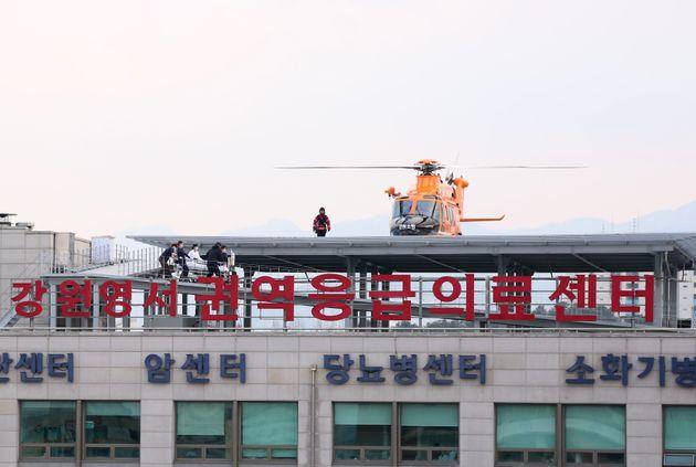 강릉 펜션 사고 피해 학생들이 퇴원 후 심리치료 지원