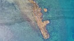 Βίντεο: Το λιμάνι της αρχαίας Ανθηδώνας, που δεν άγγιξε ο
