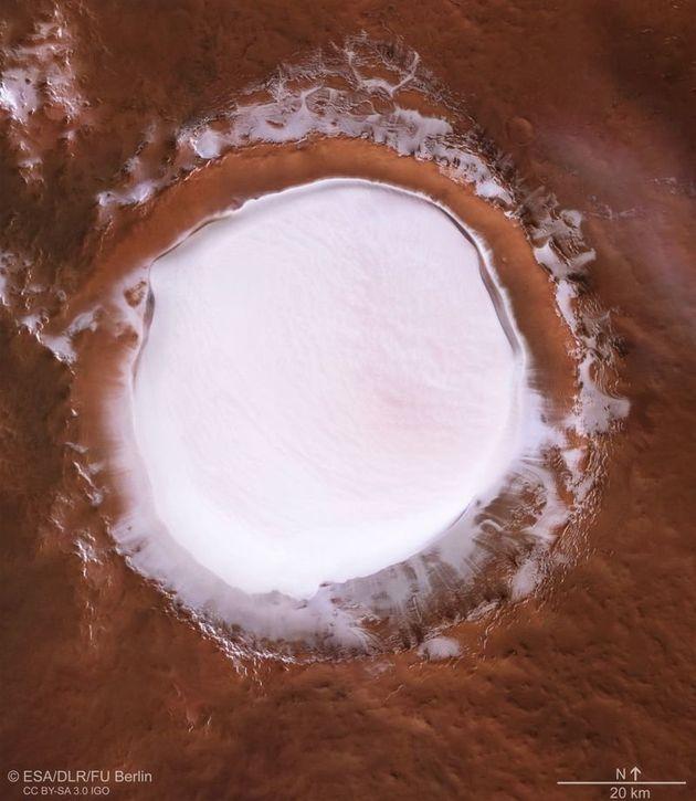 화성에서 날아온 '화이트 크리스마스'