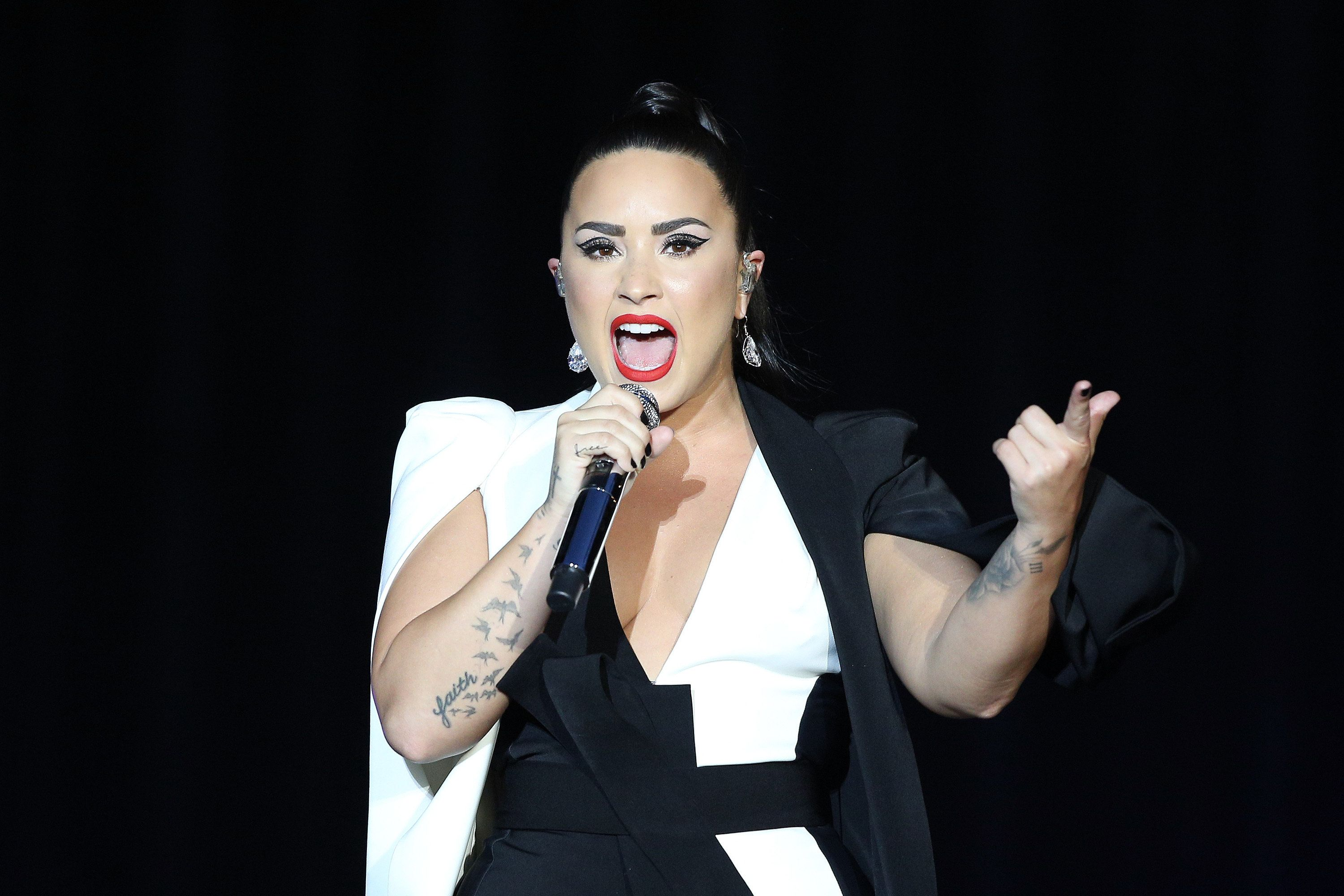 Demi Lovato Says She's 'Sober And Alive' As She Asks For 'Time To