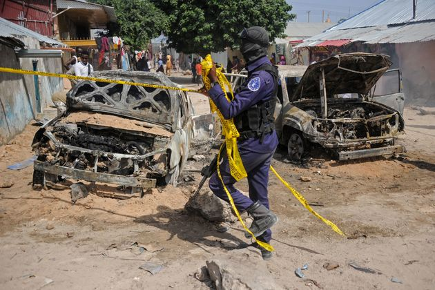 Un attentat à la voiture piégée à Mogadiscio - Photo