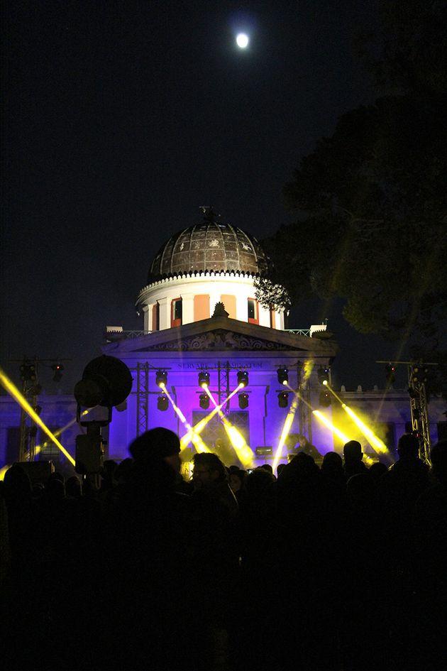 Ο Κωνσταντίνος Βήτα στο Εθνικό Αστεροσκοπείο-Χειμερινό Ηλιοστάσιο στην χριστουγεννιάτικη