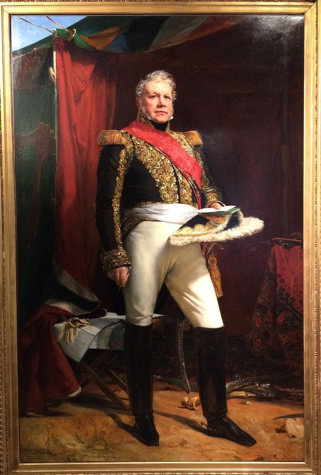 Πορτρέτο του στρατάρχη...