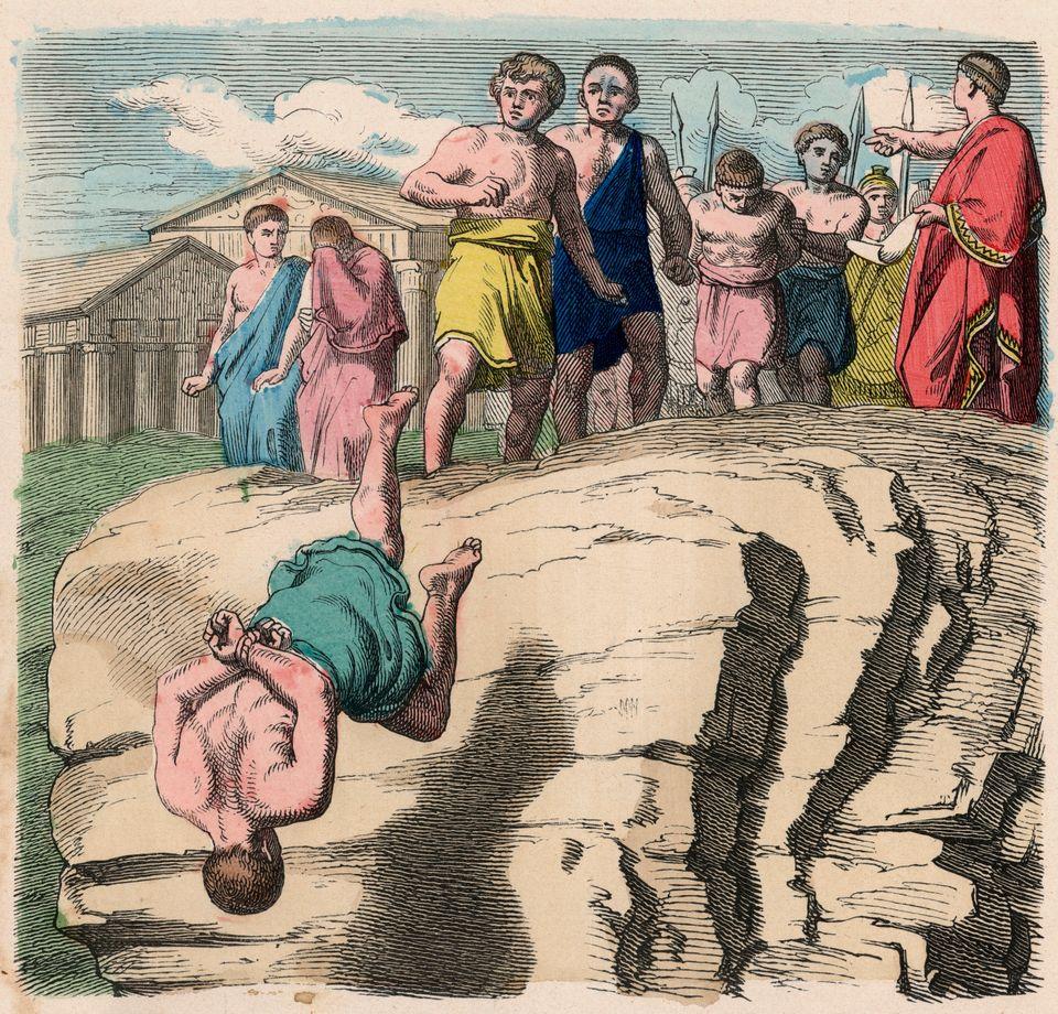 ΗΤαρπηία Πέτρα(λατινικά:Rupes...