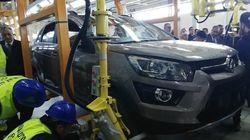 Démarrage de l'usine d'assemblage de voitures d'Oued