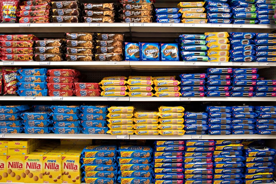 Palm oil is found in many popular snack foods, including Oreo and Chips Ahoy!