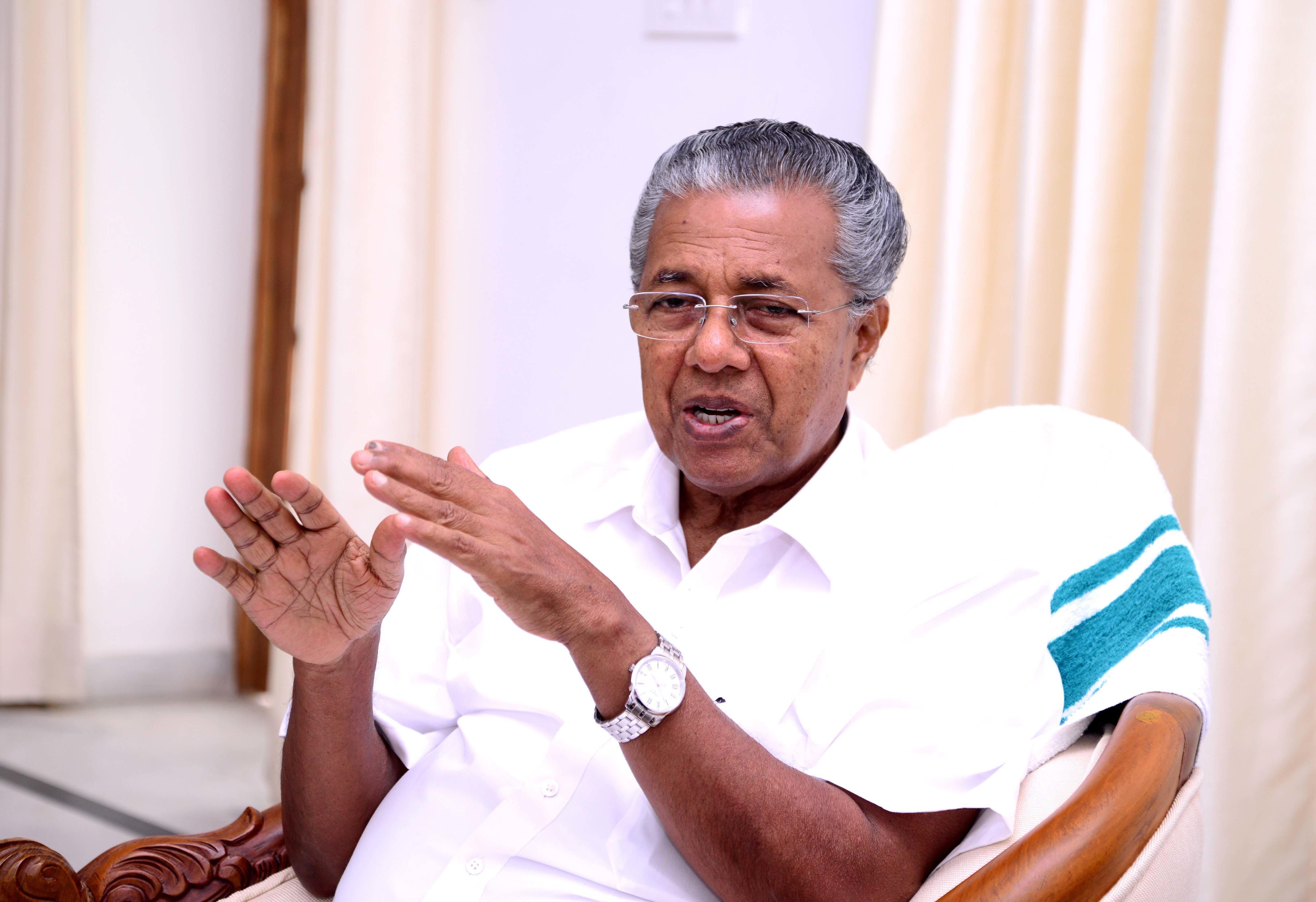 Keralachief minister Pinarayi Vijayan announced the initiative on 1