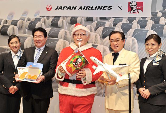 일본인이 크리스마스에 KFC 치킨을 먹게 된 이유는