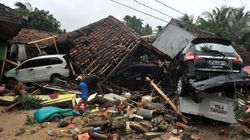 Indonesia Tsunami: Rescuers Dig Through Rubble For Survivors As Toll Rises To