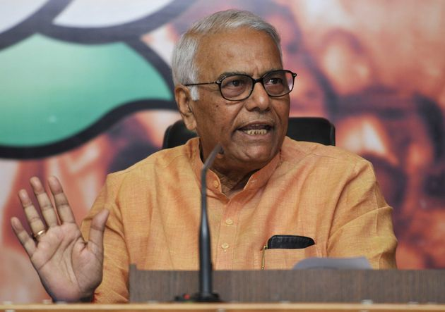 Yashwant Sinha in a file