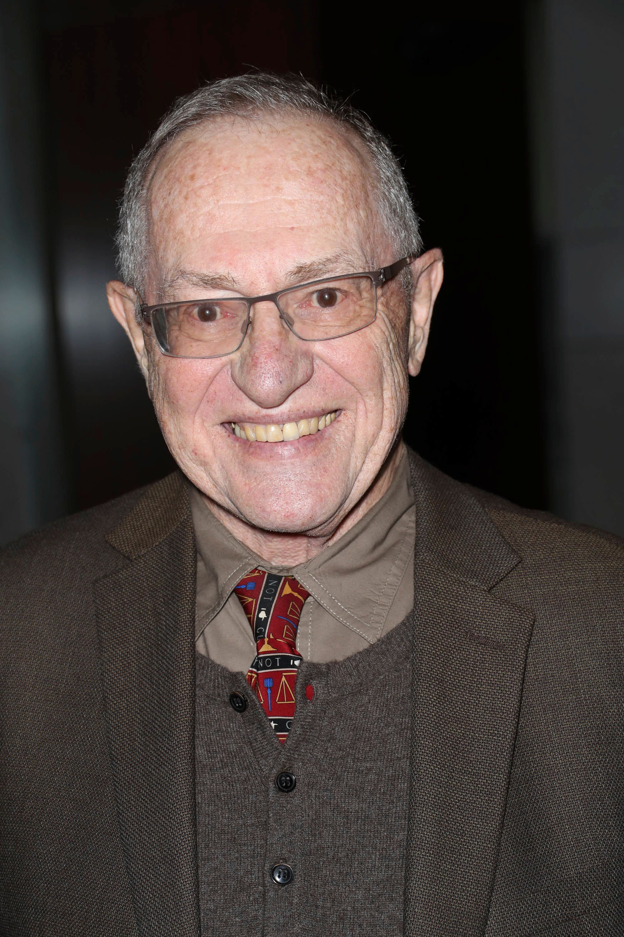 Photo by: John Nacion/STAR MAX/IPx 2018 4/2/18 Alan Dershowitz at a book launch for 'The Geraldo Show' in New York City.