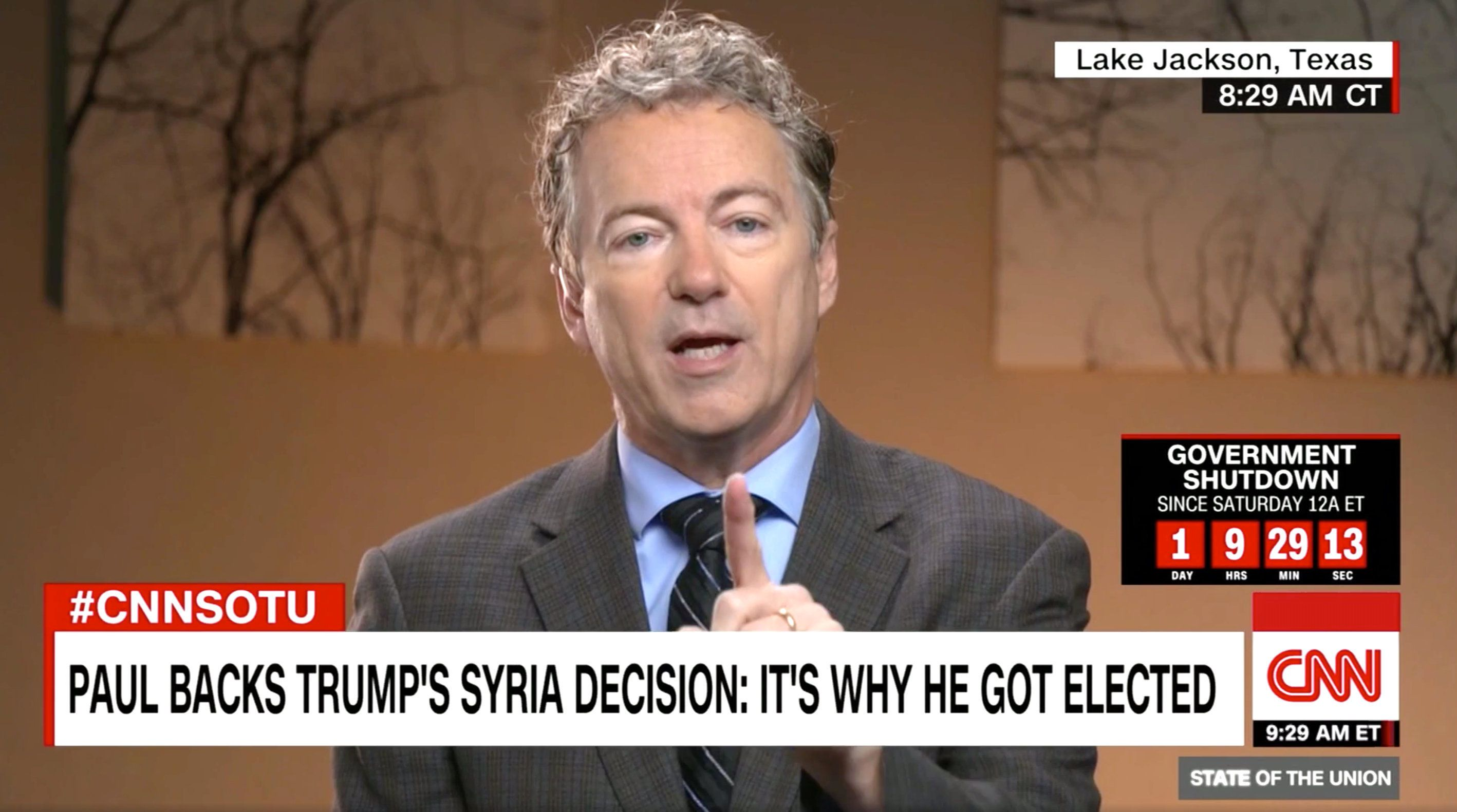 Rand Paul praised President Trump's Syria pullout, suggesting it's time communities on the ground fight their own battles.