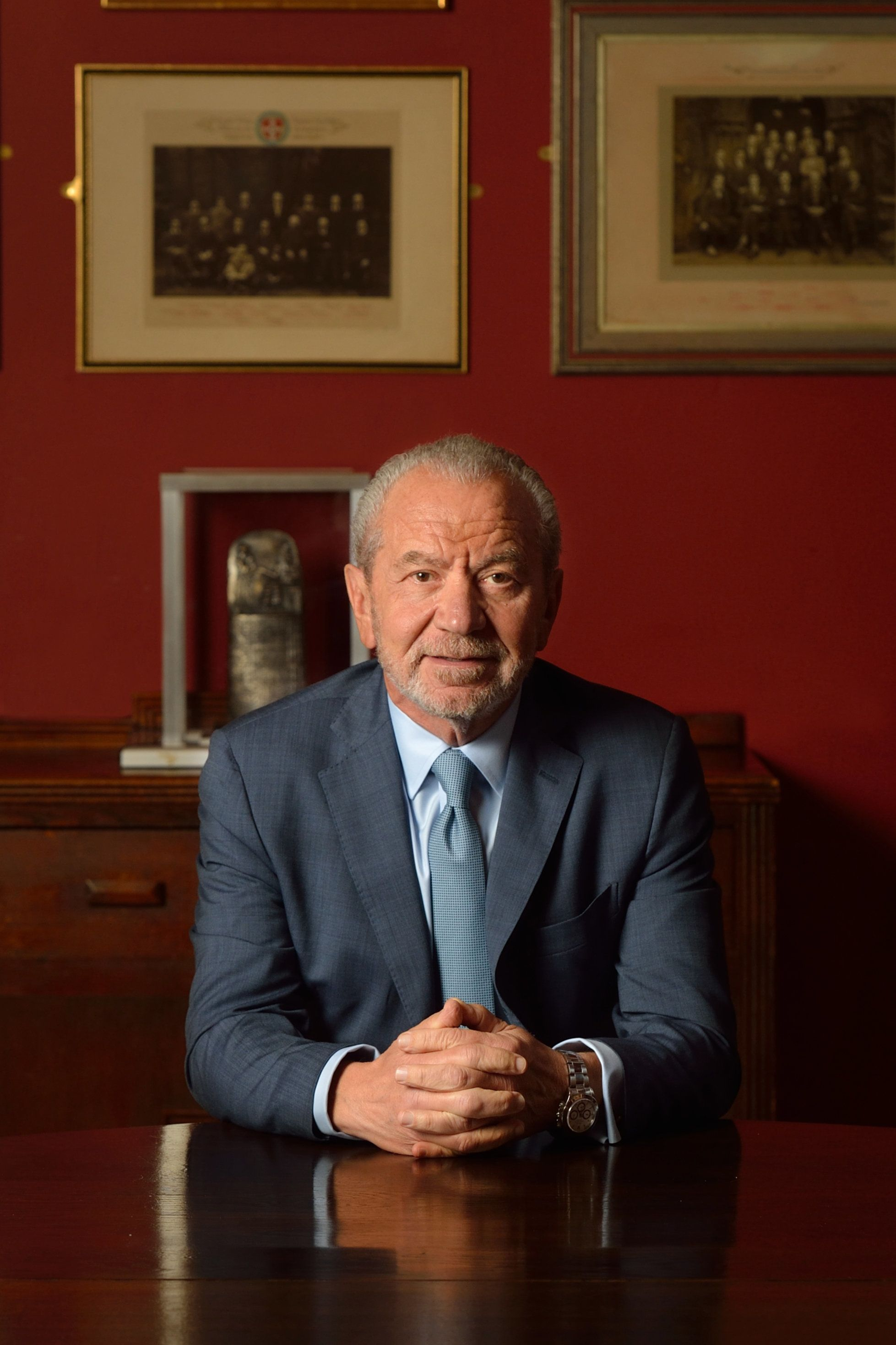 Alan Sugar Clarifies Tweet About 'Puffs In His Boardroom' After Facing