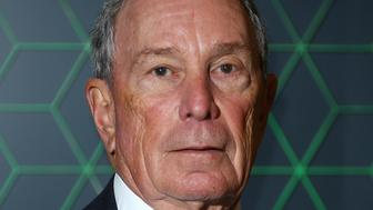 Michael Bloomberg poses for photographers upon arrival at the Bloomberg and Vanity Fair Gala Dinner in central London, Tuesday, Dec. 11, 2018. (Photo by Joel C Ryan/Invision/AP)