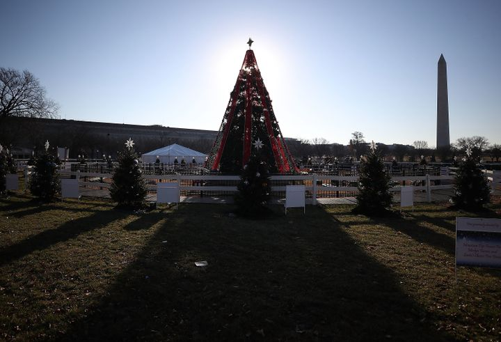 The shutdown of the National Christmas Tree will likely remain in effect through Christmas.
