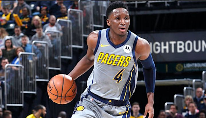 Victor Oladipo did a good deed and had a good game on Sunday.