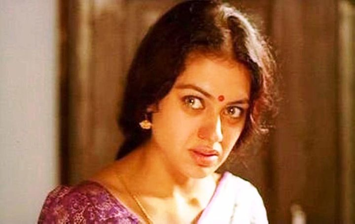 Shobana in one of her best scenes from 'Manichithrathazhu'.
