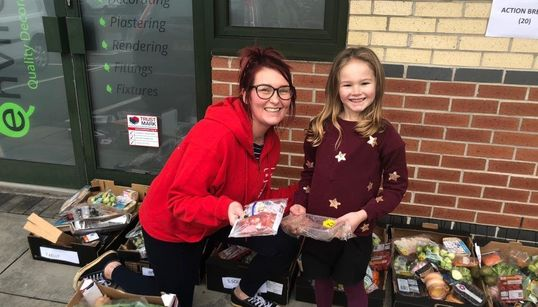 This Army Of Volunteers Made Sure Children In Poverty Have Food And Gifts This Christmas