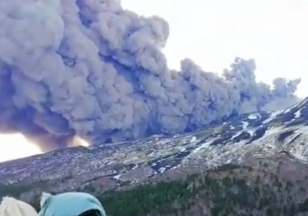 Εξερράγη το ηφαίστειο της